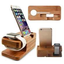 Настольный держатель для сотового телефона из бамбукового дерева, универсальная настольная подставка для телефона, настольный держатель д...