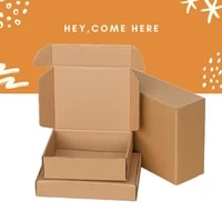 5pcslot kraft packaging box party favor supplies handmade soap chocolate candy storage carton mail paper boxes 20091301