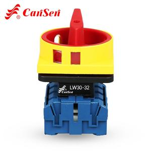 Isolating switch Disconnect switch ON-OFF switch 4P Cam Switch Ue 440V Ith 32A 4 Pole (CE, CCC)