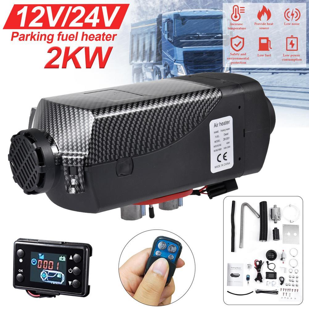 Webasto – chauffage à Air Diesel Compact 2kw 12V/24V, avec écran LCD, pour voiture, camion, bateau, Van RV, pour remplacer Eberspacher D4