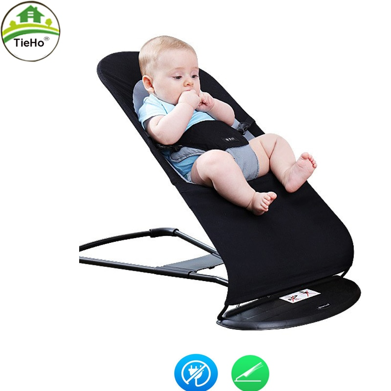 TieHo Baby Rocking Chair Newborn Balance Rocking Chair Baby Comfort Cradle Bed For 0-2 Years Old Baby Chairs Furniture chbaby music rocking chair baby bed rocking children cradle