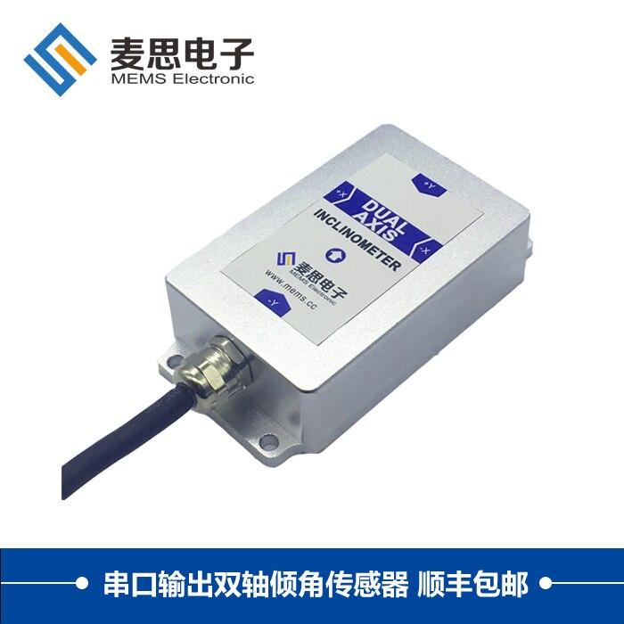 BWS4000 Ultra-high-precision Dual-axis Serial Output Tilt Sensor Ultra-high-precision Inclinometer Angle Meter