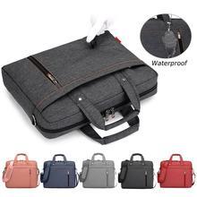 Elisona torba na laptopa futerał ochraniający torebka na ramię rękawem dla Apple Macbook Air Samsung 12 13 14 15 15.6 17 cal Notebook