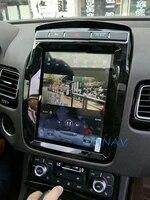 px6 car multimedia radio player tesla vertical screen android for volkswagen touareg 2010 2017 car gps navigation audio player