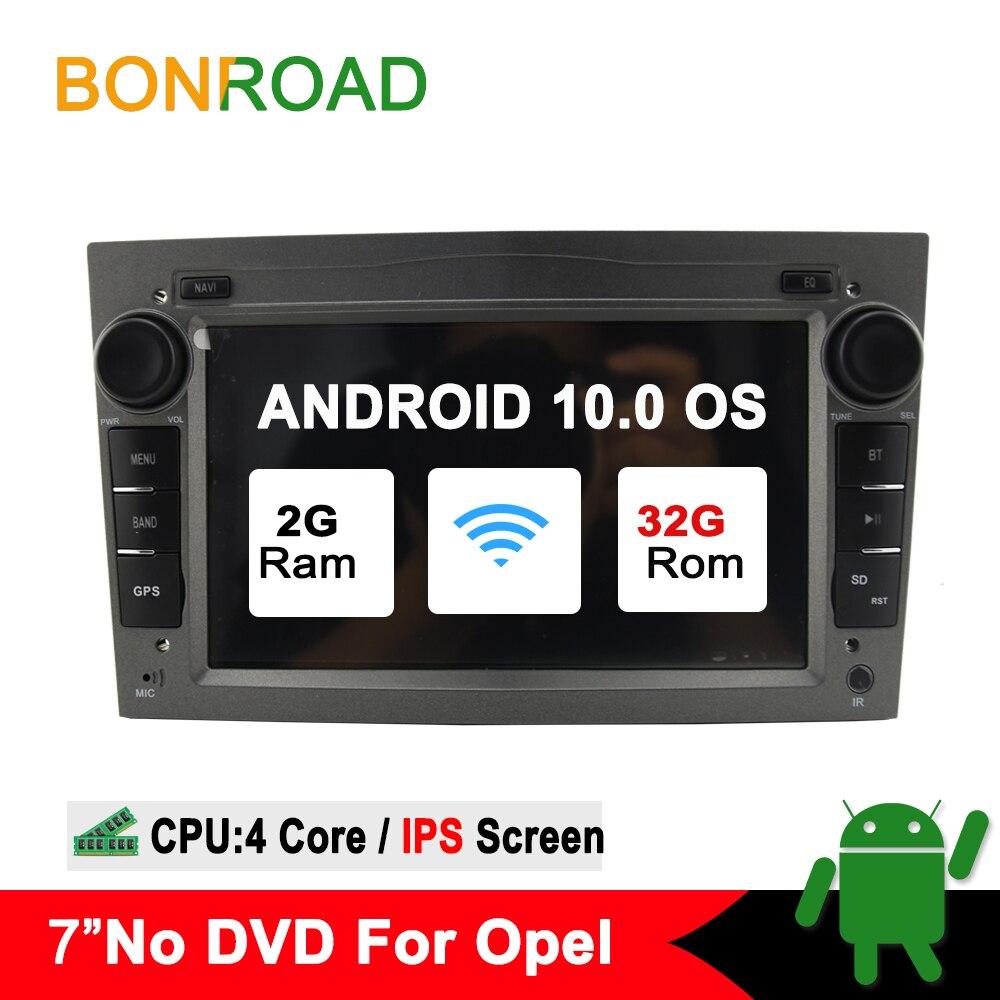 Bonroad 2DIN Android 10.0Car multimedia player For Opel Astra Vectra Antara Zafira Corsa Radio GPS Navigation RAM2G (no dvd)