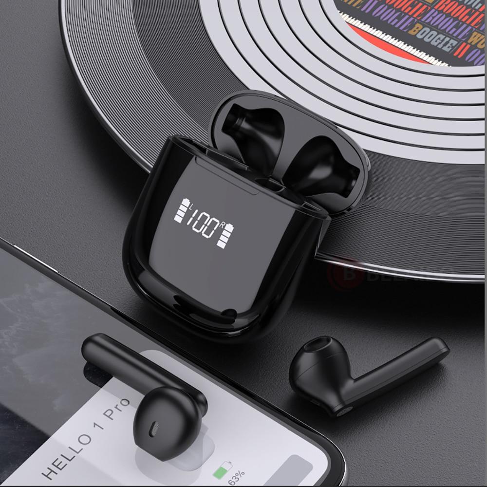TWS Touch Control Headphone Bluetooth 5.0 Earphones Sports Runing HiFi 9D Bass Stereo Binaural Call