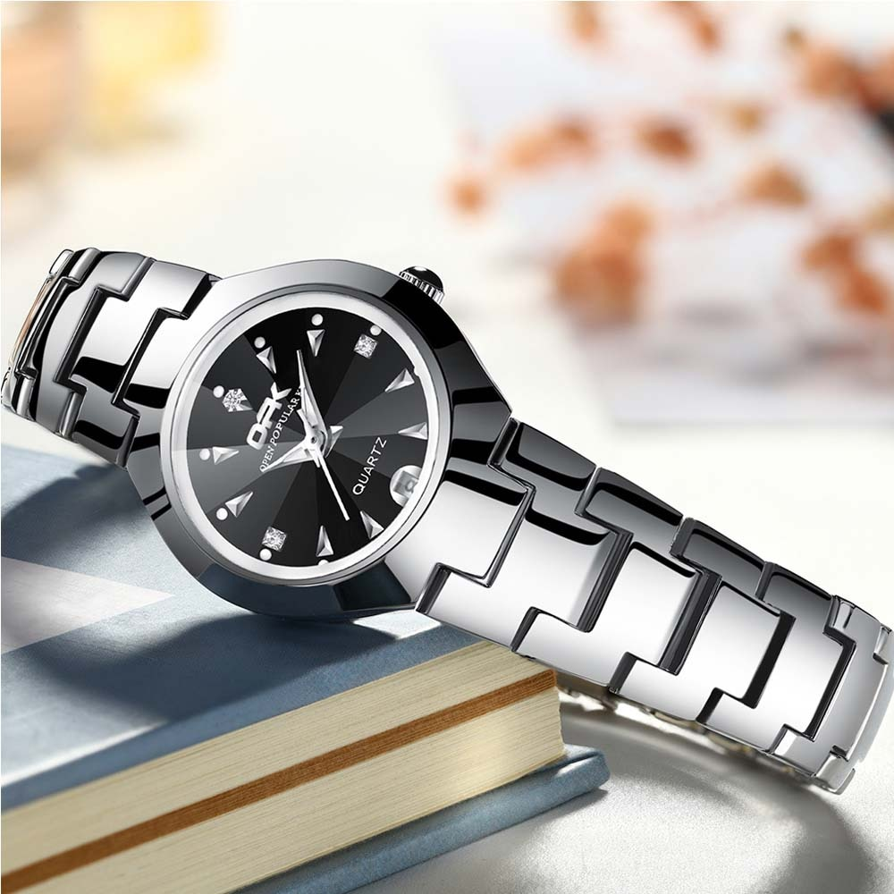 OLEVS New Women Luxury Brand Watch Simple Quartz Lady Waterproof Wristwatch Female Fashion Casual Watches Clock reloj mujer enlarge