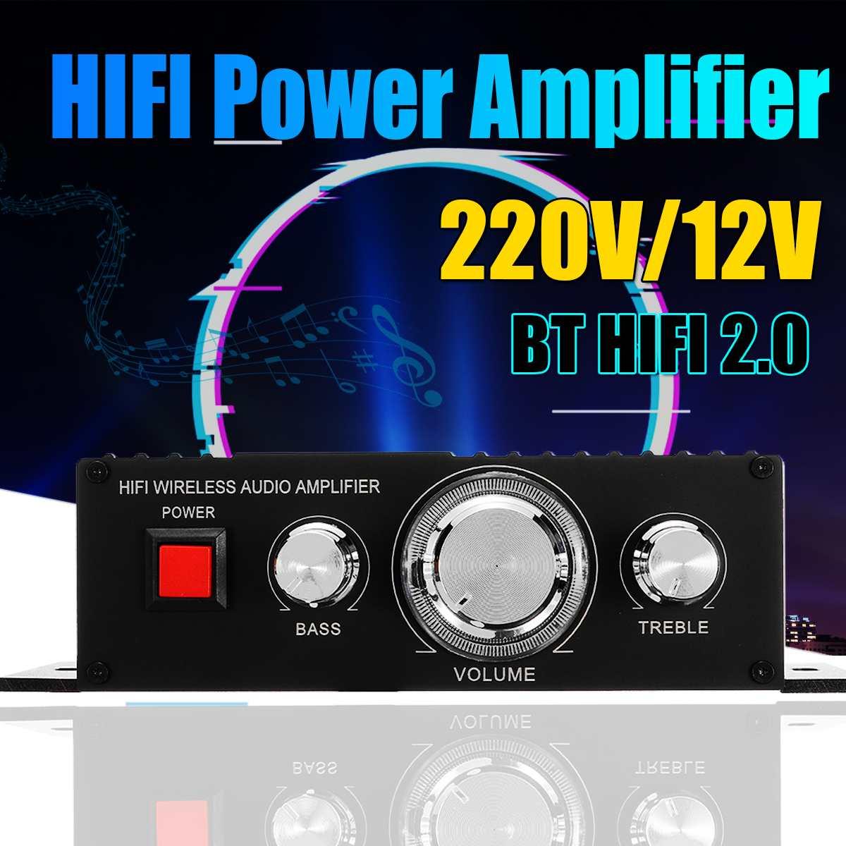 400W 2 canaux voiture Auto Audio amplificateur puissance stéréo basse haut-parleur voiture Audio Subwoofer maison amplificateurs voiture Audio amplificateurs