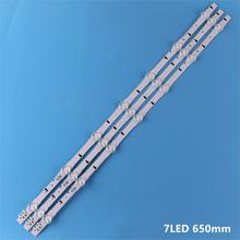 LED Backlight strip 7 Lamp For Samsung UE32H4000AK UE32H4100AK UE32H4510AK UE32J4100AK UE32J4000AK U