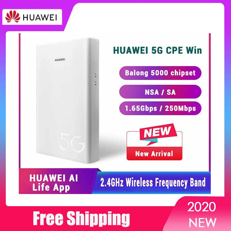 New Original Unlocked H312-371 Huawei 5G CPE Win External Outdoor Router