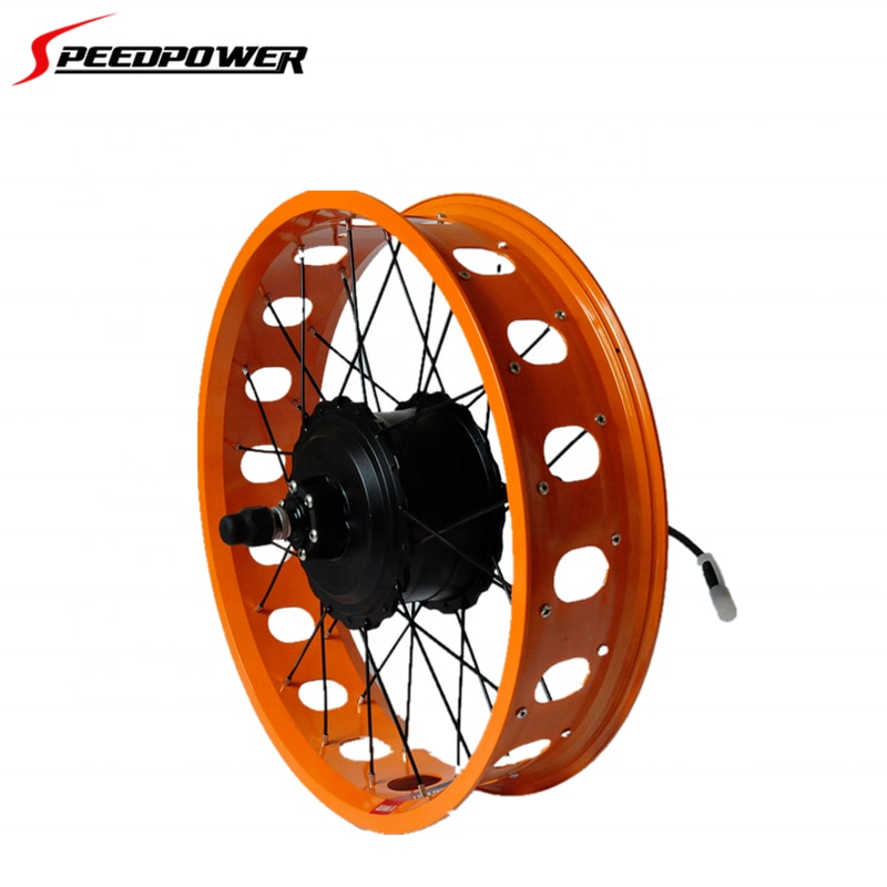 500w vehicle fat tire bike brushless electric dirt mountain bicycle motor conversion kit with tube lithium battery