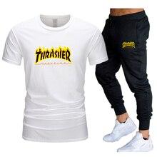 2021 summer fashion casual men's men's sportswear suits sports hip-hop clothes men's sportswear shor