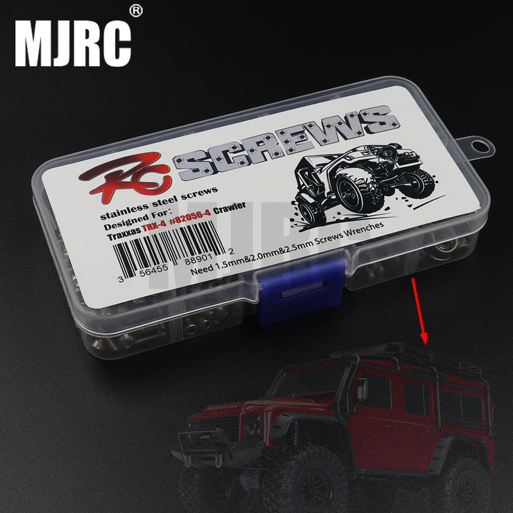 RC Car Screw Stainless Steel Screws Box Repair Tool Kit for TRAXXAS TRX4 Bronco Defender Full range compatible Accessories