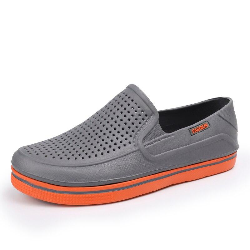 2020 nuevo EVA para hombres sandalia Cave doble Color calzado para jardín zuecos transpirables de alta calidad ligero 3 colores