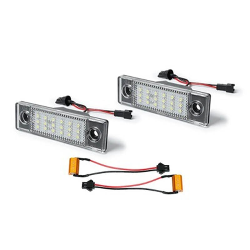 Car LED Number License Plate Light LED Number Plate Lamp for Chevrolet Cruze Accessories