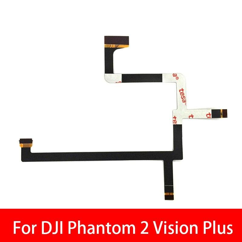 5 unids/lote para DJI Phantom 2 Vision Plus cardán Cámara flexible Cable...