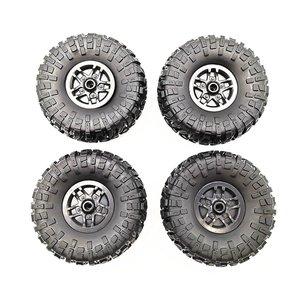 MN Replacement Tires 1 / 12 Remote Control Car Spare Parts Rubber Rim Tire Upgrade Modified Accessories