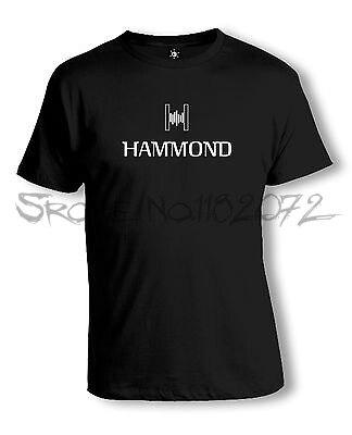 Camiseta con el logotipo de Hammond   Orgel   Lesley   Teclado   Analógico   Sintetizador hombres algodón camisetas 4XL 5XL tamaño euro drop shipping