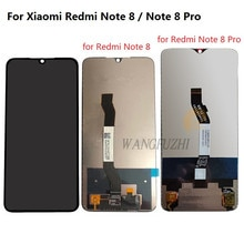 WANGFUZHI oryginał do Xiaomi Redmi Note 8 Pro wyświetlacz LCD montaż digitizera ekranu dotykowego część zamienna