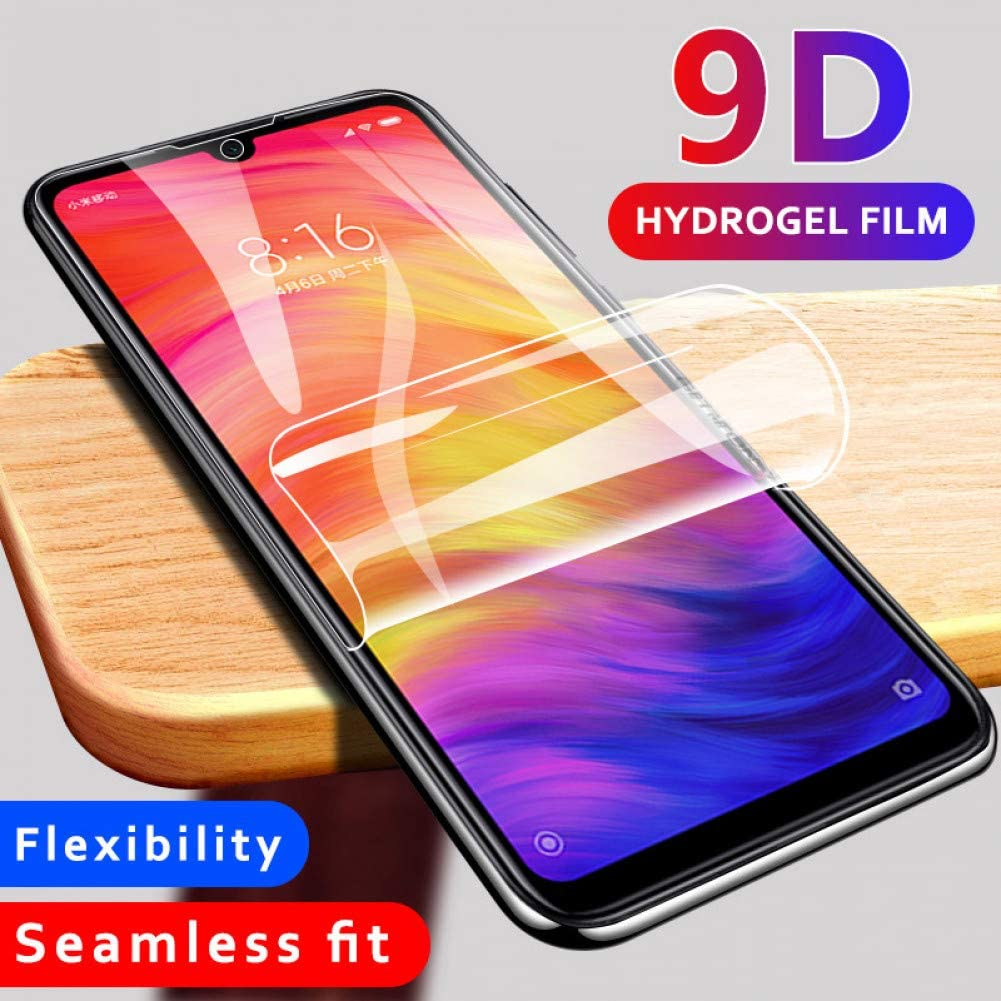 Full Hydrogel Film On Redmi 7 7A 8 8A 9 9A 9C Glass For Xiaomi Redmi Note 7 8 9 Pro 9S 8T Screen Protector Protective Film