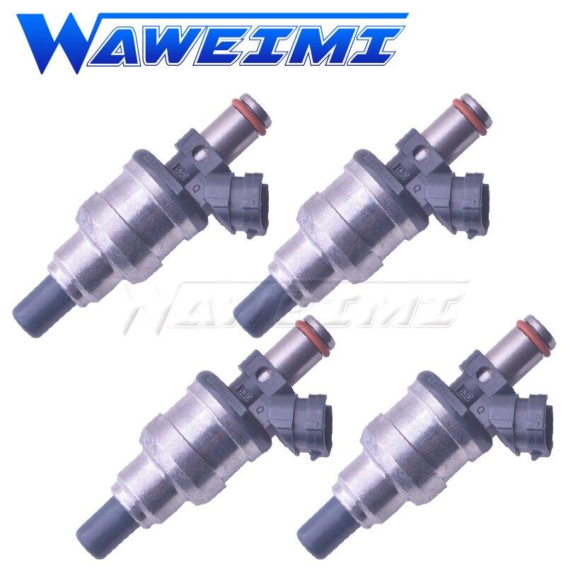 Boquilla de inyector de combustible WAWEIMI 4x 23250-74060 para TOYOTA MR2 CELICA CAMRY CORONA ARINA 2.0L 3SFE 1988-1991 2325074060