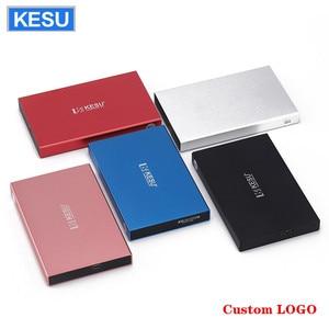 Внешний жесткий диск KESU с логотипом на заказ, HDD, USB2.0, 60/ 160/250/320/ 500/750 г, 1/2 Тб, для ПК Mac, для планшета-телевизора