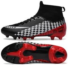Bottes de Football hommes professionnels gazon Football baskets hommes en plein air crampons enfants chaussures de Football garçons athlétiques formateurs chaussures de Football