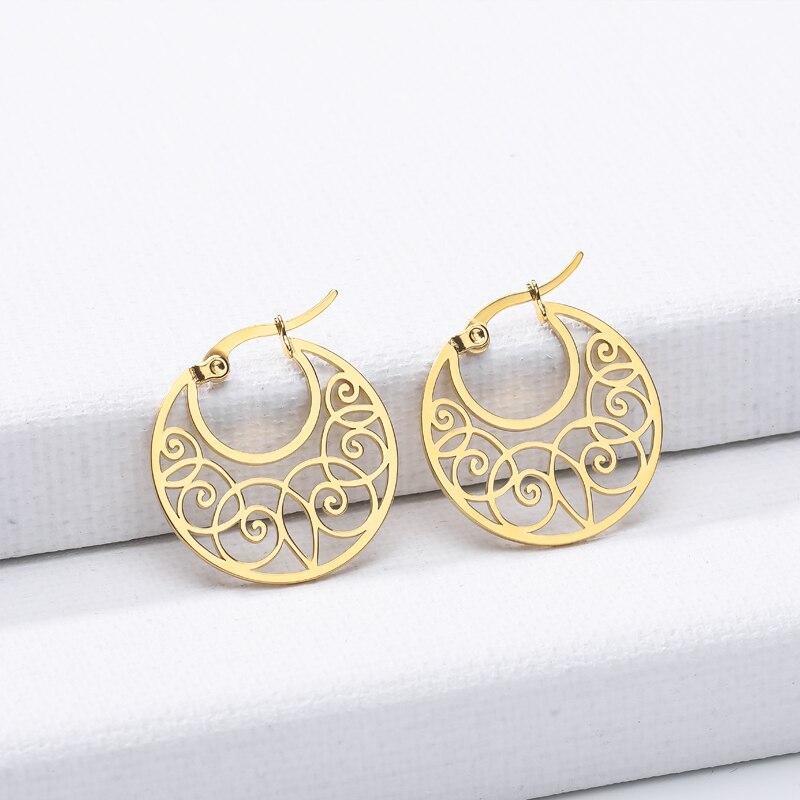 2020 moda clássico ouro kleur twisted liefde knoop parafuso prisioneiro oorbellen voor vrouwen eenvoudige geometrische kleine oorbellen bruilo