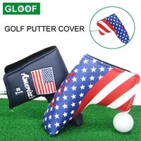 1pcs universal waterproof pu leather golf blade putter head cover protector for golf accessories