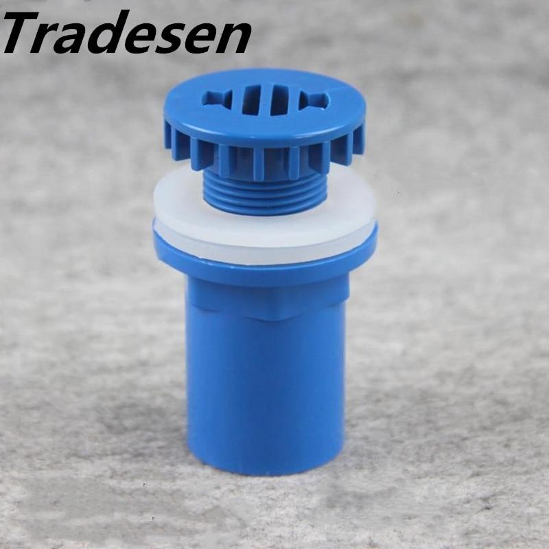 Intérieur Dia. 1 pièce Connecteur de vidange de tuyaux de vidange   Joint de Drainage de réservoir de poissons 25mm Aquarium verre réservoir deau, connecteur de tuyaux de vidange