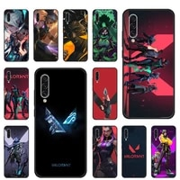 valorant game cool phone cases for samsung galaxy s note 7 8 9 10 20 fe edge a 6 10 20 30 50 51 70 lite plus shell cover funda