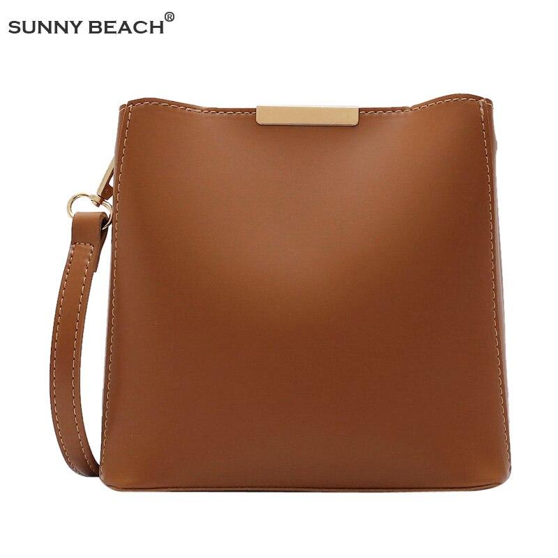 Bag Women Leather Bucket Luxury Handbags Designer 2020 Famous Brand fashion Shoulder Crossbody Women Bag