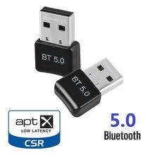 Dongle adaptateur USB Bluetooth, récepteur Audio de musique, transmetteur pour ordinateur PC, souris