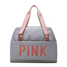 Multifunction Shoulder Bags for Women Designer Travel Bag Nylon Waterproof Handbags for Women Solid