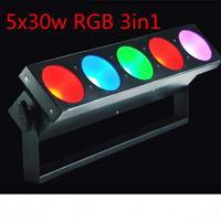5x30w RGB 3In1 LED Matrix Light Led Bar Light DMX512 Wash Led Outdoor /Flood Light DJ /Bar /Party /Show /Stage Light