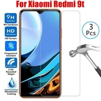 3pcs phone glass for xaomi redmi 9t 9 t safety screen protector protective glass on xiaomi ksiomi redmi9t t 9 tempered glass