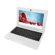 10 Inch Netbook Actions Quad-Core S500 1G+8G 1024X600 Android 5.1 Laptop Game Android Netbook Comput