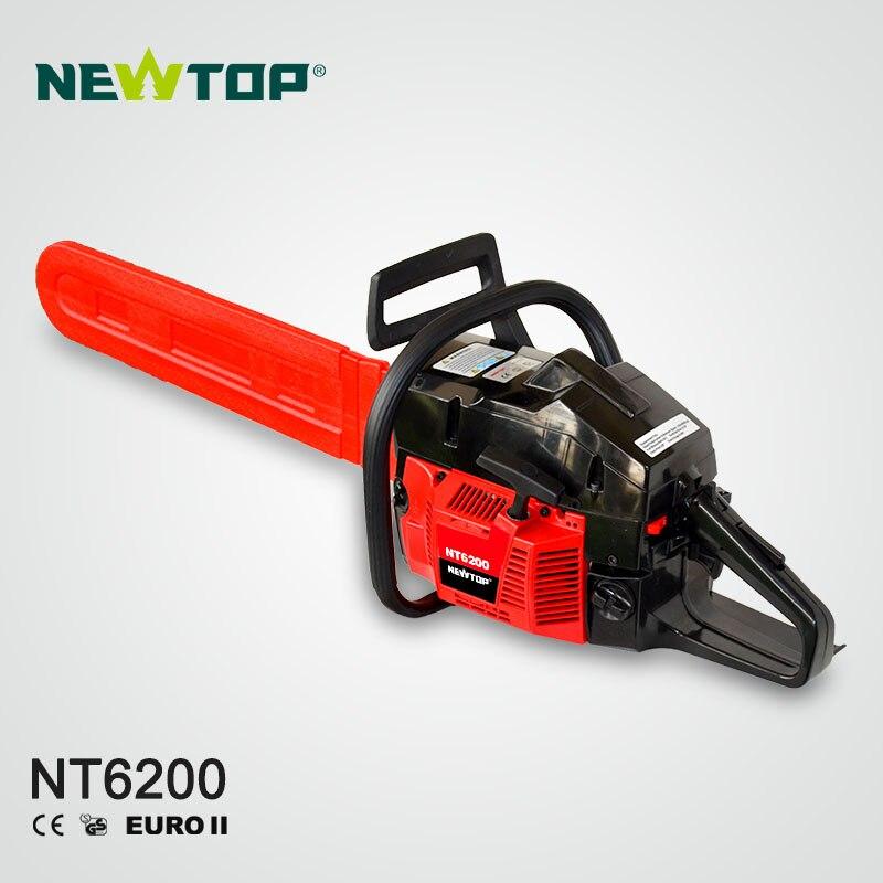 Profissional da Corrente da Gasolina para o Corte Grande da Árvore Serra Elétrica Grande H61 Nt6200