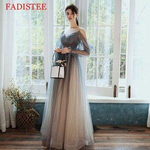 New Style Lace Tulle Evening Dresses вечерние платья Vestido De Festa A-line Prom Dress Robe De Soiree Vestidos Formales