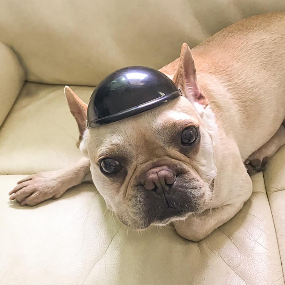 Cascos de verano para perro gorro para moto mascota para perros pequeños medianos Bulldog francés Chihuahua tocado de gato fiesta atrezo divertido para foto