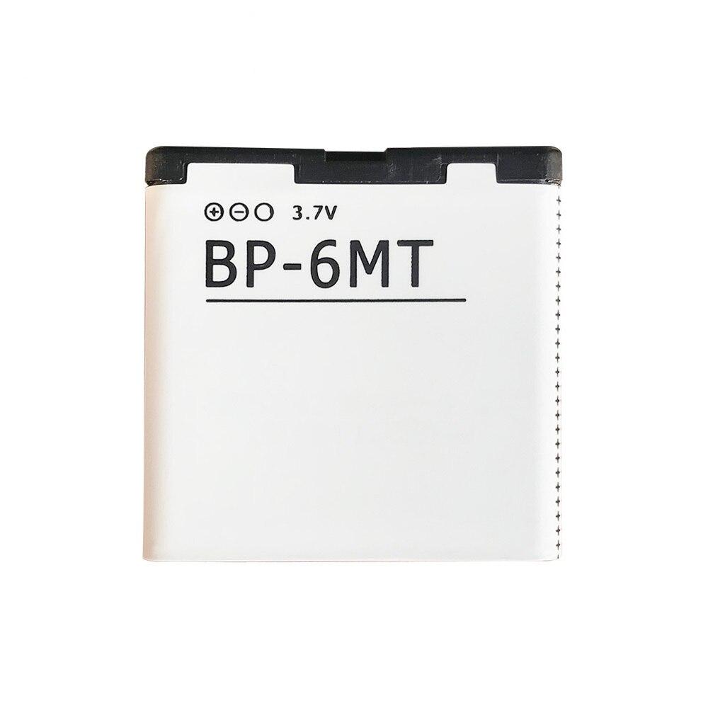 1050mAh batería del teléfono móvil BP-6MT para Nokia N81 N82 N81-8G E51 E51i 6720 6720C BP 6MT reemplazo de baterías de litio
