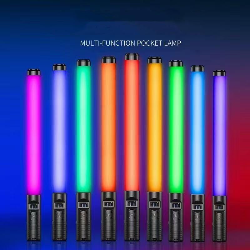 Портативная портативная цветная лампа RGB для фотосъемки