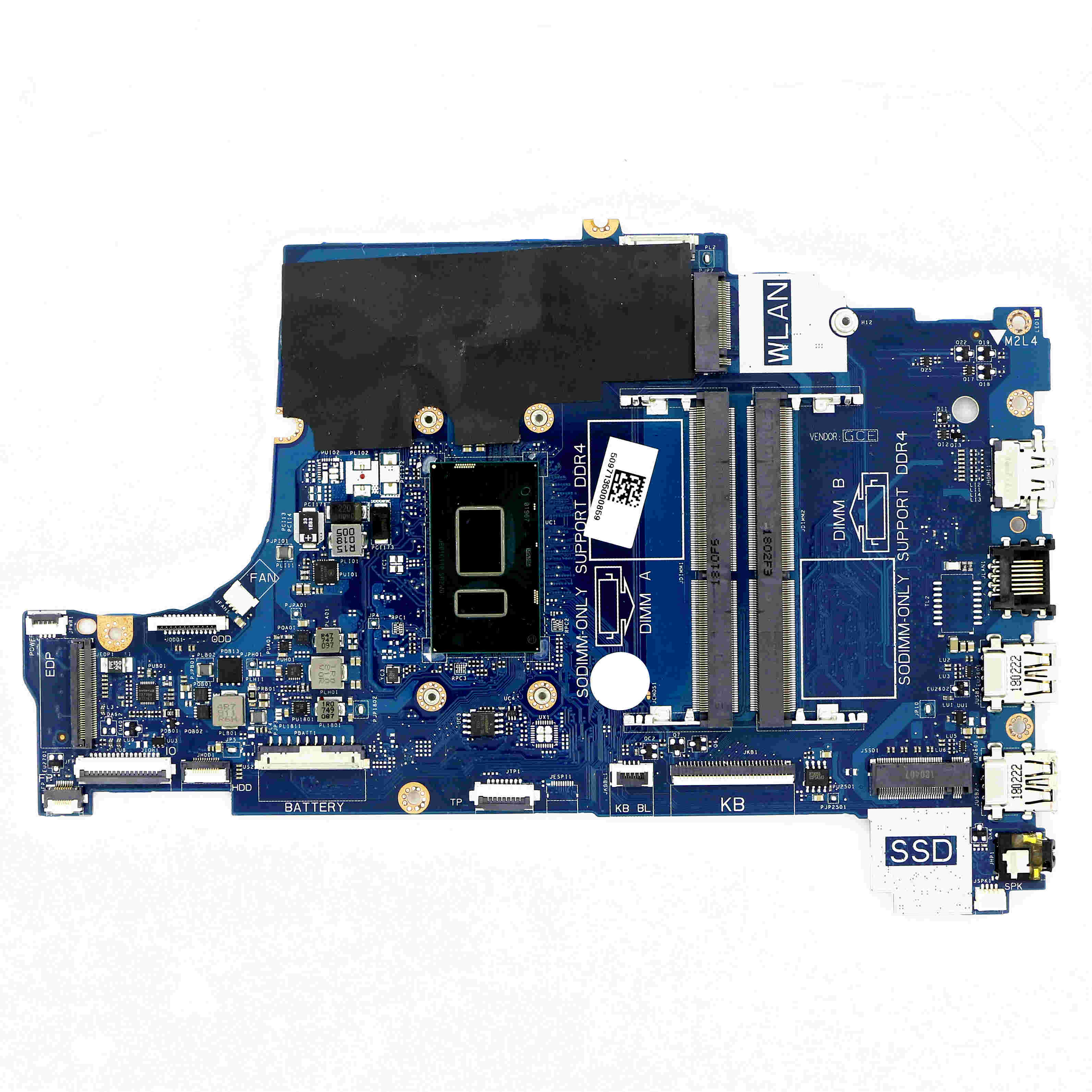 H0WK9 - UMA DDR4 اللوحة CAL60 LA-F114P ث/i3-8130U 2.2 جيجا هرتز لديل انسبايرون 15 (5570) / 17 (5770)