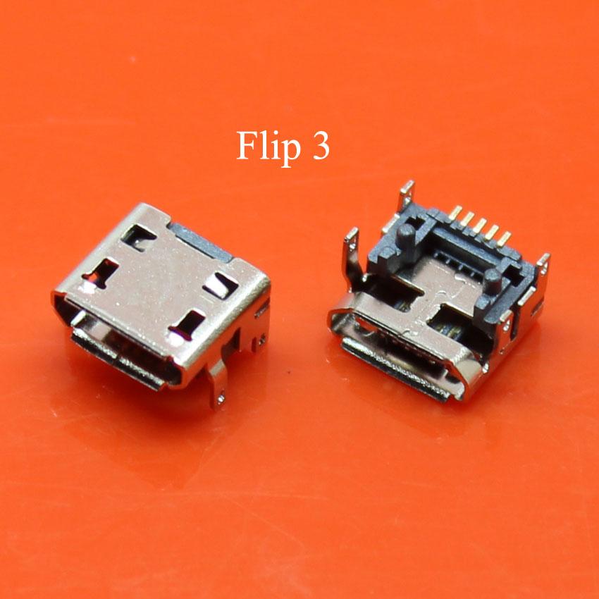 YuXi 2 uds. Enchufe de disco duro móvil puerto de carga USB Jack para JBL carga FLIP 3 Bluetooth Altavoz Conector de enchufe de carga