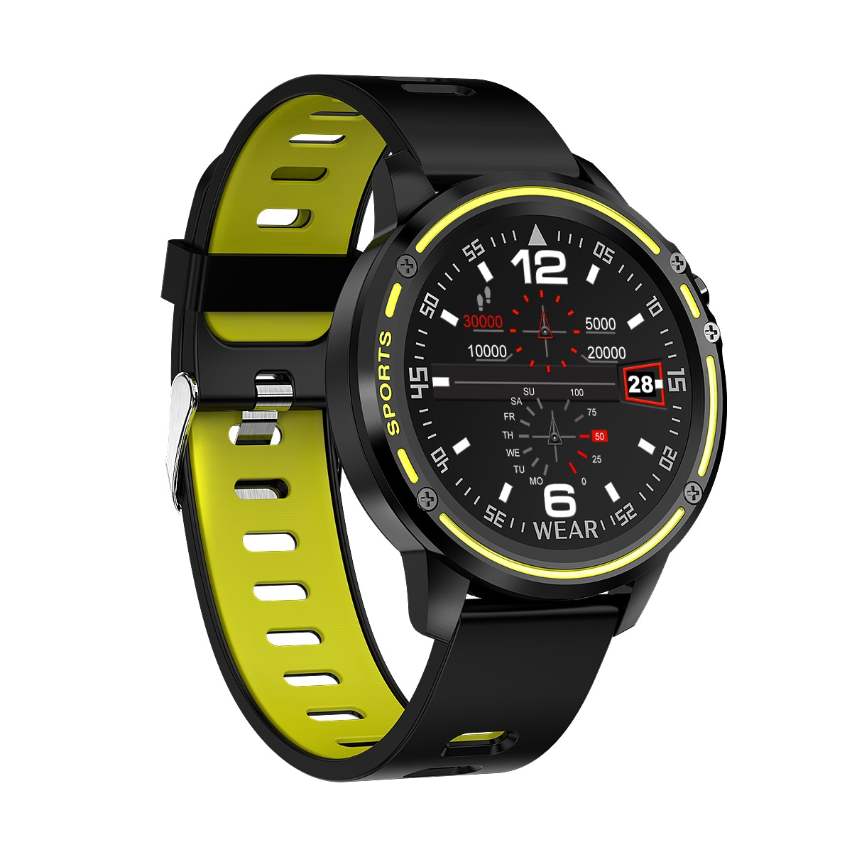 2020 männer Frauen Smart Uhr L8 Herz Rate Smart Uhren Uhr Relogio Android Psg Amazefit Ticwatch Android Amazifit Bip Oliphants