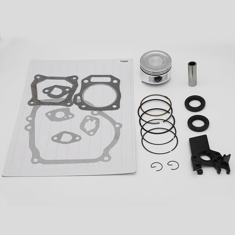 68MM Piston Gasket Set Oil Seal Fit For HONDA GX160 GX200 168 168F 6.5HP 5.5HP 2KW 2.5KW Gasoline Generator Engine Part