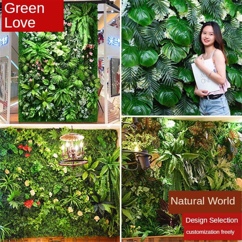 خشب بقس اصطناعي عشب خلفية لوح توبياري تحوط النبات الخصوصية التحوط شاشة فو في الهواء الطلق داخلي حديقة الفناء الخلفي الخضرة