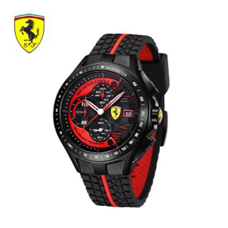FERRARI WELT Luxus Marke quarz frauen Uhren Quarz Uhr Edelstahl Band armbanduhr klassische business kleid männer 687