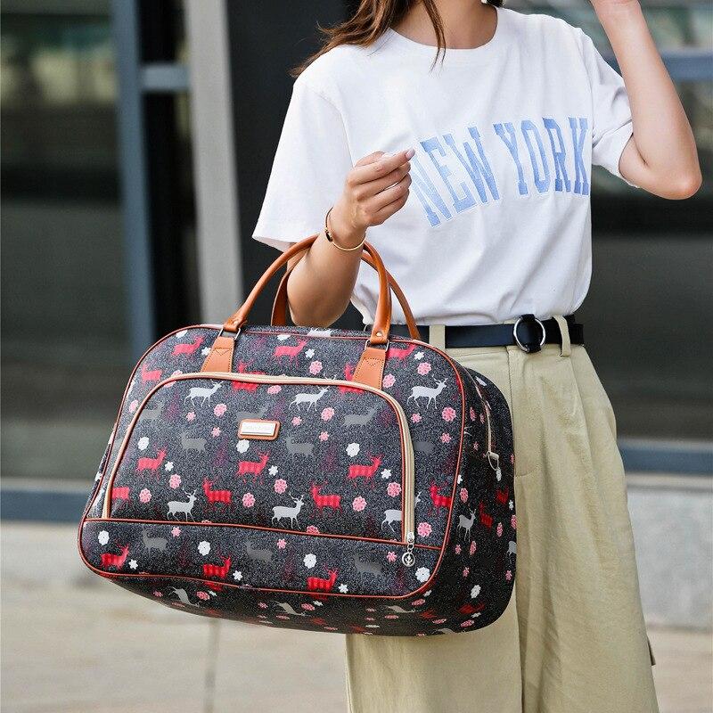 Легкая удобная дорожная сумка для багажа на выходные, вместительная одежда, журналы, зонты, наушники, сумка для хранения