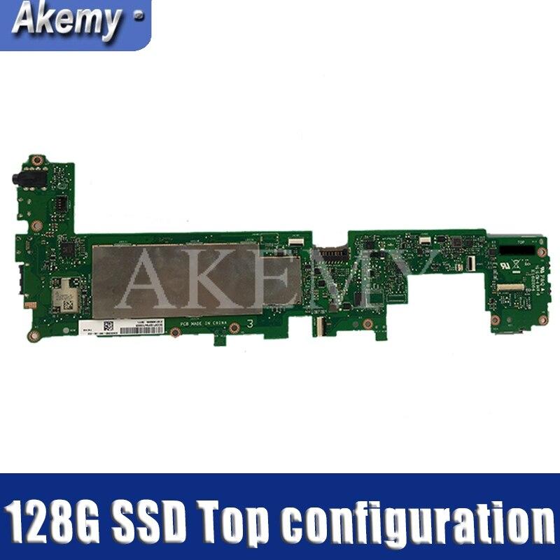 Akemy T101HA para For Asus Transformer Book T101HA T101H T101 computadora portátil placa base T101HA placa base W/2G RAM 128G SSD